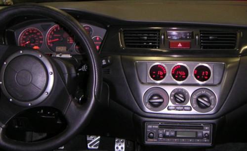 INSTALL: VEI systems Triple-Gauge - EvolutionM - Mitsubishi