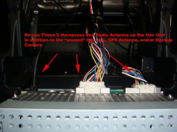 DSC00504 how to install factory navigation into a non nav evo 10 Harley Evo Wiring-Diagram at panicattacktreatment.co