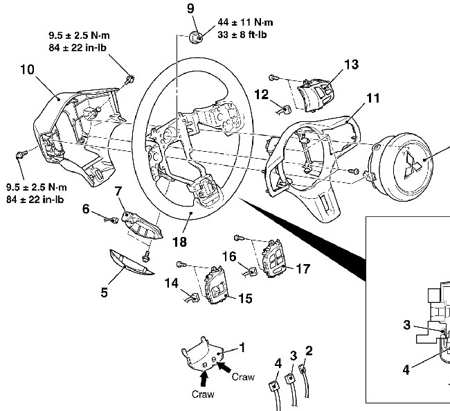 steeringwheel aftermarket steering wheel?? evoxforums com mitsubishi lancer Dodge Ram 2500 Wiring Diagram at gsmx.co